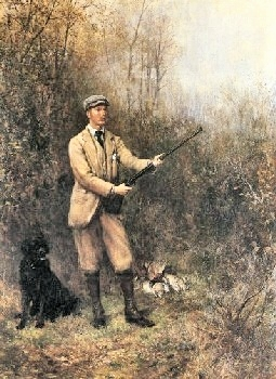 Victorian hunting costume male