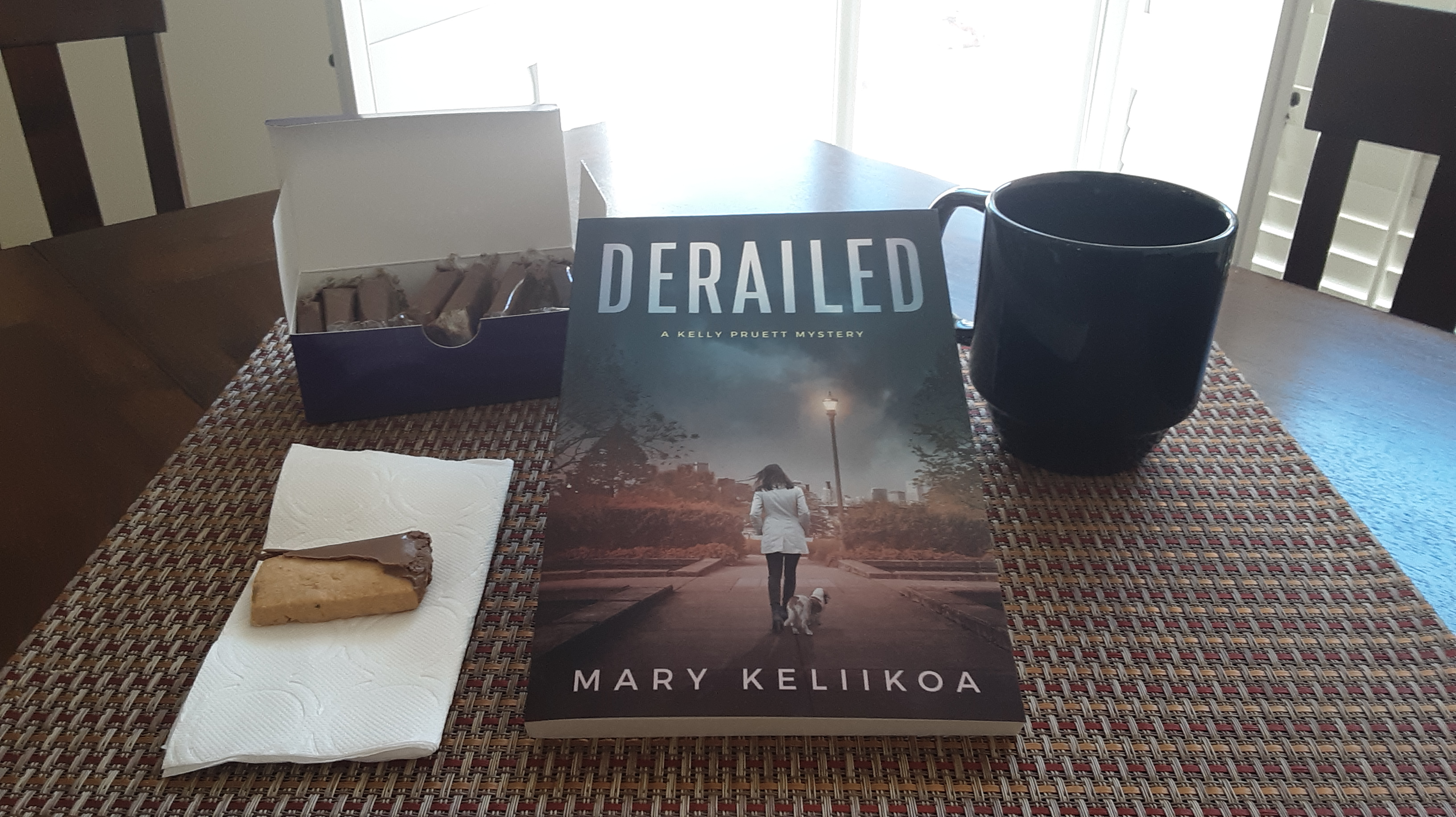 Coffee cookies and a good book